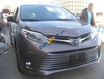 Bán xe Toyota Sienna Limited sản xuất 2018, màu nâu, xe nhập Mỹ
