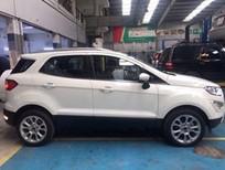 Bán ô tô Ford EcoSport Titanium 2018, màu trắng, giá cực tốt, LH: 0918889278