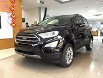 Bán xe Ford EcoSport 1.0 ecoboost 2018, mới 100%, màu đen, giá tốt. L/H 090.778.2222