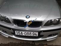 Cần bán lại xe BMW 3 Series 318i sản xuất 2005, màu bạc, xe nhập chính chủ, giá 320tr