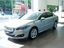 Peugeot Quảng Ninh bán xe Pháp Peugeot 508 bạc nội thất be, xe châu âu nhập khẩu mới 100%