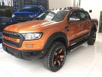 Bán xe Ford Ranger 3.2L 2018, màu cam trắng đen và xám, nhập khẩu chính hãng, giá chỉ 925 triệu, LH: 0918889278