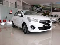 Attrage CVT Eco nhập Thái(5L/100km) hỗ trợ vay vốn, thủ tục làm xe nhanh(Linh 0936.79.79.17)