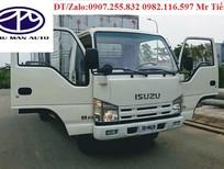 Xe tải Isuzu 3,49 tấn, bán trả góp, hỗ trợ vay vốn ngân hàng