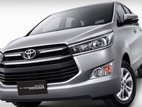 Bán ô tô Toyota Innova E CVT 2017, màu trắng, hỗ trợ trả góp lên tới 85% giá trị xe