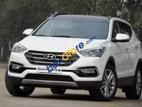 Bán Hyundai Santa Fe 2018, màu trắng