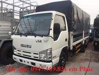 Giá xe tải Isuzu 3T49 QHR 650, màu trắng, nhập khẩu