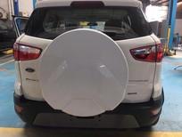 Bán xe Ford EcoSport Titanium 2018, màu trắng, giá cực tốt, LH: 0918889278