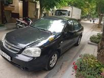 Bán Chevrolet Lacetti 1.6 EX sản xuất năm 2012, màu đen chính chủ