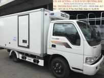 Xe tải 2.4 tấn Thaco Kia, thùng kèo bạt, xe có sẵn giao ngay
