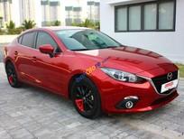 Bán xe Mazda 3 - 1.5AT, màu đỏ đời 2016, xe nguyên thủy 100%, odo 34.000km