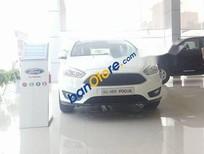 Bán xe Ford Focus Ecoboots 1.5L đời 2018, màu trắng, 489 triệu
