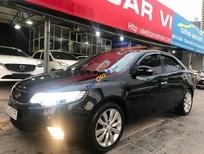 Cần bán Kia Cerato 1.6 AT sản xuất năm 2010, màu đen, nhập khẩu