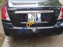 Cần bán xe Daewoo Lacetti năm sản xuất 2007, màu đen, giá tốt