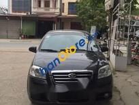 Bán xe Daewoo Gentra đời 2010, màu đen