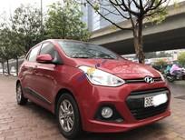 Bán xe Hyundai i10 1.2 AT sản xuất 2016, màu đỏ, nhập khẩu nguyên chiếc giá cạnh tranh