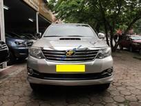 Cần bán xe Toyota Fortuner G sản xuất năm 2015, màu bạc số sàn, giá tốt