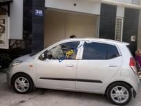Bán Hyundai i10 sản xuất năm 2010, màu bạc, nhập, xe gia đình, 260 triệu