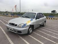 Bán Daewoo Lanos sản xuất 2002, màu bạc xe gia đình
