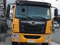 Bán xe ben DongFeng 8T75 máy FAW công nghệ Mỹ màu xanh lá. Xe ben DongFeng 8.75 tấn