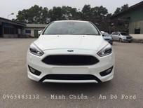 Cần bán xe Ford Focus 5D Sport 1.5L Ecoboost Cao cấp 2017, màu trắng, hỗ trợ trả góp 90%
