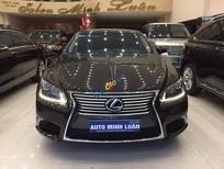 Lexus LS600HL hybrid 2014, màu nâu ánh kim