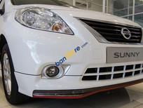 Cần bán Nissan Sunny 1.5 XV đời 2018, màu trắng, giá 475 triệu