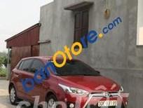 Cần bán lại xe Toyota Yaris sản xuất 2017, màu đỏ
