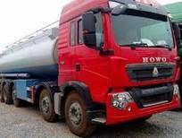 Xe bồn, xe xi téc chở xăng dầu 5 chân 25-26m3 Hyundai, Daewoo, Howo, Dongfeng 2019