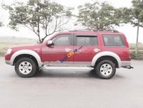 Bán ô tô Ford Everest 2.5L đời 2009, màu đỏ