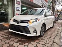 Cần bán xe Toyota Sienna Limited sản xuất 2018, màu trắng, xe nhập Mỹ giá tốt