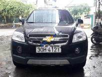 Cần bán xe Chevrolet Captiva LT sản xuất năm 2008, màu đen, giá tốt