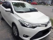 Bán ô tô Toyota Vios E 2018, màu trắng, giá tốt
