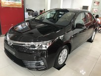 Bán Toyota Corolla altis 1,8E-AT đời 2018, màu đen giá cạnh tranh