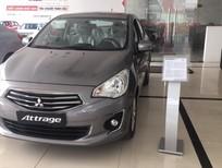 Bán Mitsubishi Attrage CVT ECo 2018, màu xám, nhập khẩu có bán trả góp 0906.884.030