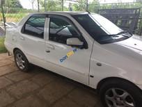 Cần bán xe Fiat Siena HLX 1.6 2002, màu trắng, giá chỉ 75 triệu