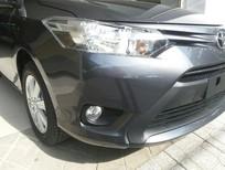 Bán Toyota Vios 1.5E CVT đời 2018, màu xám, giá tốt