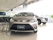 Bán xe Toyota Vios 1.5 ECVT 2018, màu vàng, giá 535tr