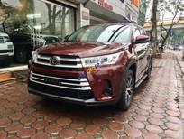 Cần bán xe Toyota Highlander LE 2.7 đời 2018, màu đỏ, nhập khẩu