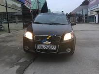Cần bán lại xe Chevrolet Aveo LTZ 1.5 AT 2014, màu đen, giá chỉ 335 triệu