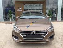 Bán Hyundai Accent 1.4L MT 2018, màu nâu, giá tốt xe giao ngay