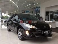 Peugeot Quảng Ninh bán Peugeot 408 Premium màu đen giá chỉ 740 triệu
