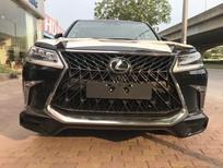 Bán Lexus LX570 Super Sport Trung Đông 2018 màu đen nội thất da bò