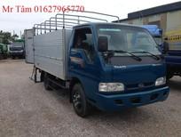 Xe tải Kia, Thaco Kia K165s thùng mui bạt, thùng kín nâng tải từ 1.4 tấn lên 2.4 tấn. Liên hệ mr tâm 01627965770