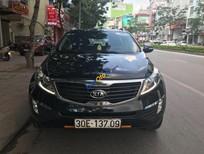 Cần bán xe Kia Sportage Limited 2.0 AT sản xuất năm 2011, màu đen, nhập khẩu nguyên chiếc chính chủ, 570 triệu