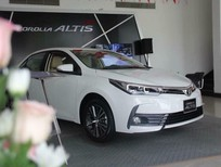 Toyota Nha Trang/ bán Toyota Corolla altis 1.8G 2018, màu trắng/Hỗ trợ ngân hàng giá tốt