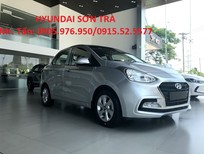 Cần bán Hyundai Grand i10 đời 2018, màu bạc