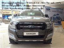 Giao ngay Ford Ranger Wiltrak 3.2 AT 4x4 màu bạc. Hỗ trợ trả góp 80%, thủ tục hoàn thiện nhanh gọn