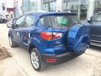 Bán xe Ford EcoSport Trend AT sản xuất năm 2018, màu xanh lam
