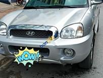 Bán Hyundai Santa Fe 2004, màu bạc, nhập khẩu chính chủ, giá tốt